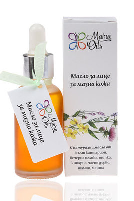 Face oil for oily skin
